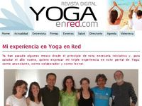 Revista digital Yoga en Red